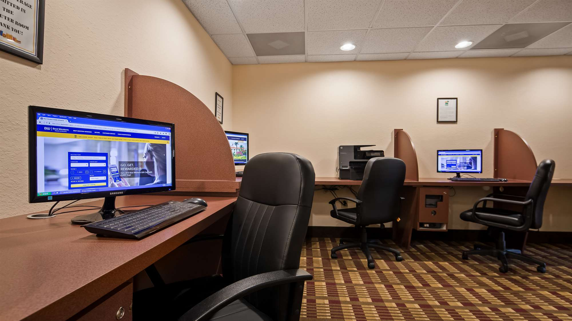 Hotel Business Center Gainesville