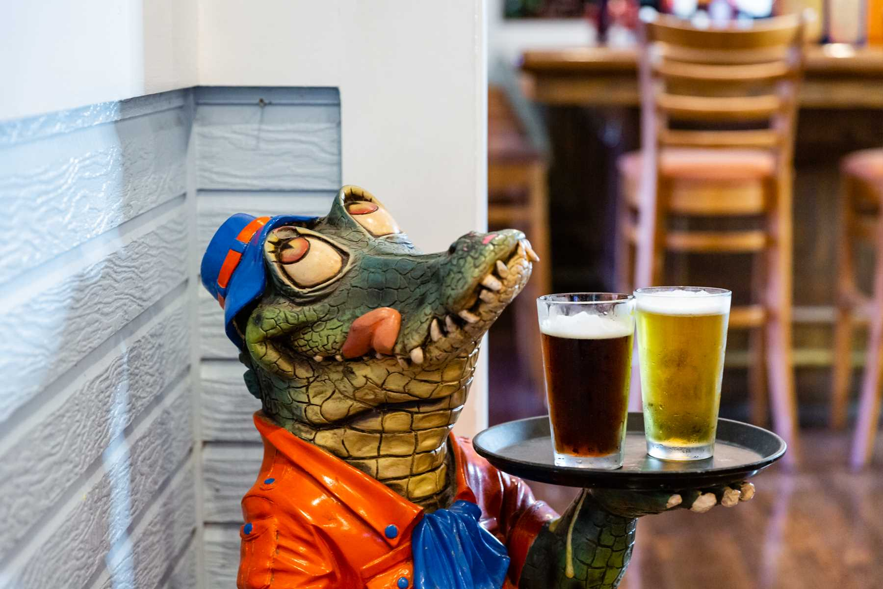 Gators Den Sports Grill greeter
